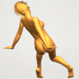 A07.png Download free STL file Naked Girl G01 • 3D printable template, GeorgesNikkei