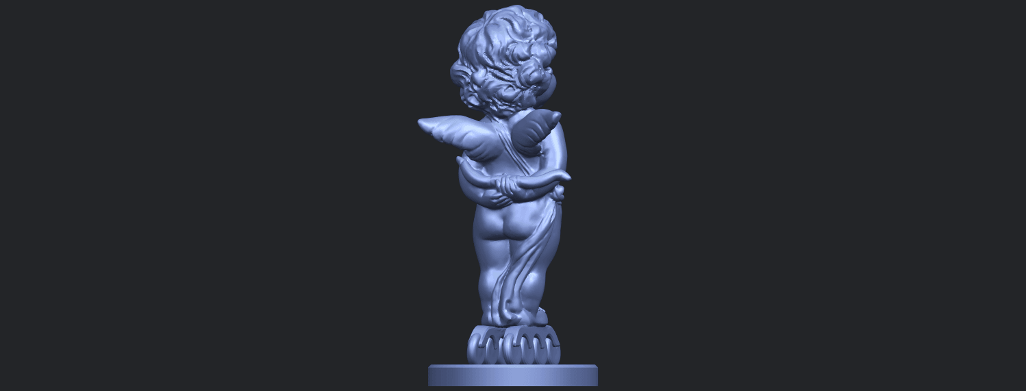 15_TDA0478_Angel_Baby_01B07.png Download free STL file Angel Baby 01 • 3D print template, GeorgesNikkei