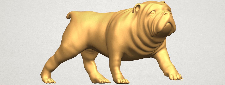 TDA0520 Bull Dog 01 A07.png Télécharger fichier STL gratuit Chien de taureau 01 • Plan pour impression 3D, GeorgesNikkei