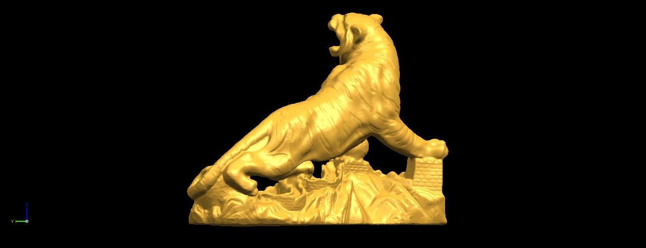 07.png Télécharger fichier STL gratuit Tigre de Sibérie • Objet imprimable en 3D, GeorgesNikkei