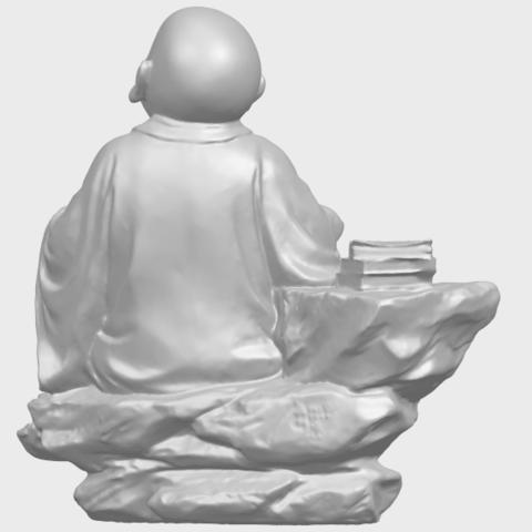 17_TDA0558_Little_Monk_Drink_TeaA07.png Télécharger fichier STL gratuit Boire du thé Little Monk Drink Tea • Design à imprimer en 3D, GeorgesNikkei