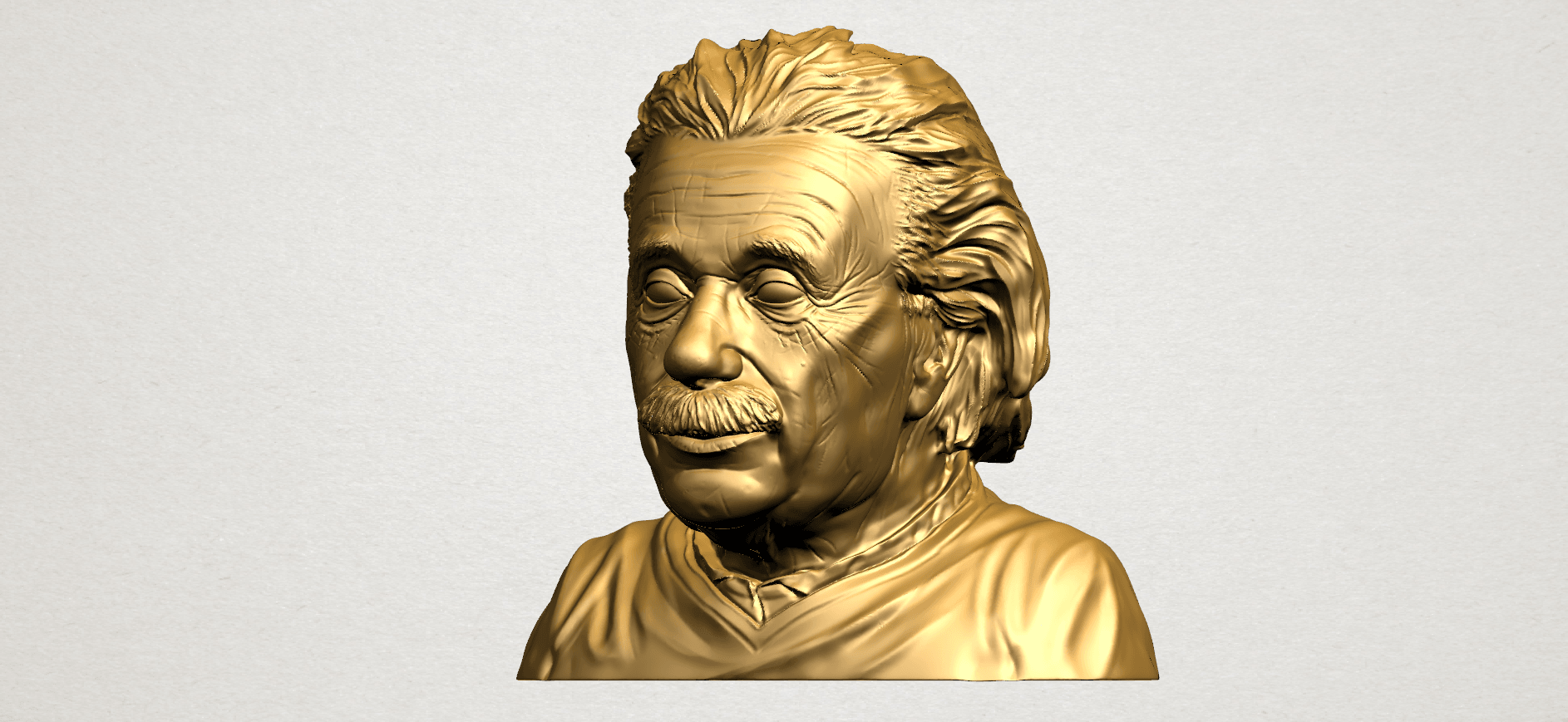 Einstein B02.png Download free STL file Einstein • 3D printer template, GeorgesNikkei
