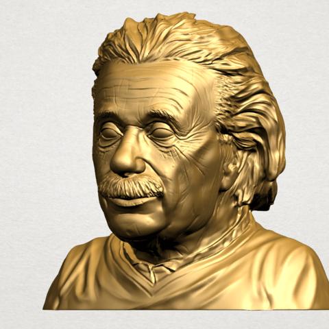 Einstein B02.png Télécharger fichier STL gratuit Einstein • Objet à imprimer en 3D, GeorgesNikkei