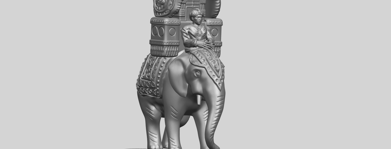 TDA0731_Elephant_08A10.png Download free STL file Elephant 08 • 3D printable template, GeorgesNikkei