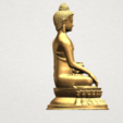 Thai Buddha (iii) A08.png Download free STL file Thai Buddha 03 • 3D printing object, GeorgesNikkei