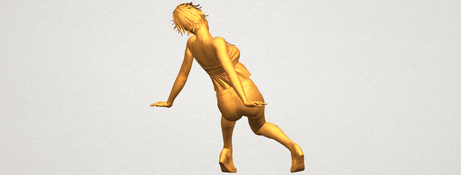 A07.png Download free STL file Naked Girl G06 • 3D printable object, GeorgesNikkei