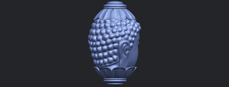 11_Buddha_Head_Sculpture_80mmB08.png Download free STL file Buddha - Head Sculpture • 3D printing model, GeorgesNikkei