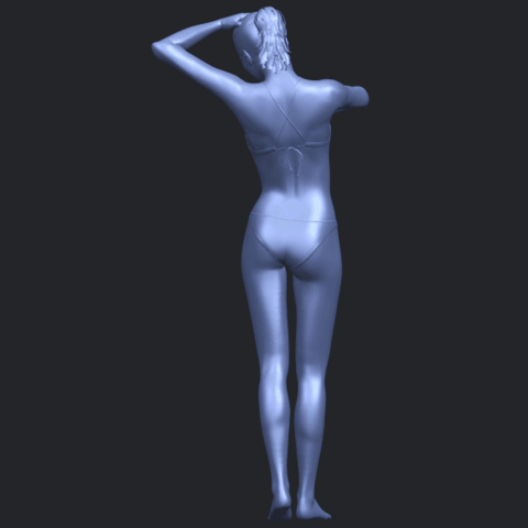 16_TDA0633_Naked_Girl_D03-B07.png Download free STL file Naked Girl D03 • 3D printing template, GeorgesNikkei