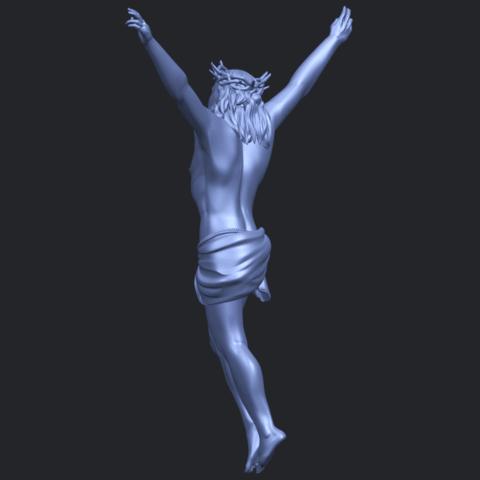 05_TDA0231_Jesus_(ii)_88mmB05.png Download free STL file Jesus 02 • 3D printing template, GeorgesNikkei