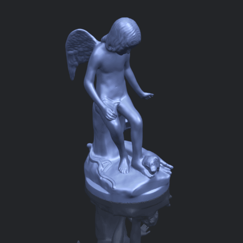 05_Angel_and_Dog_80mmB00-1.png Download free STL file Angel and Dog • 3D print model, GeorgesNikkei