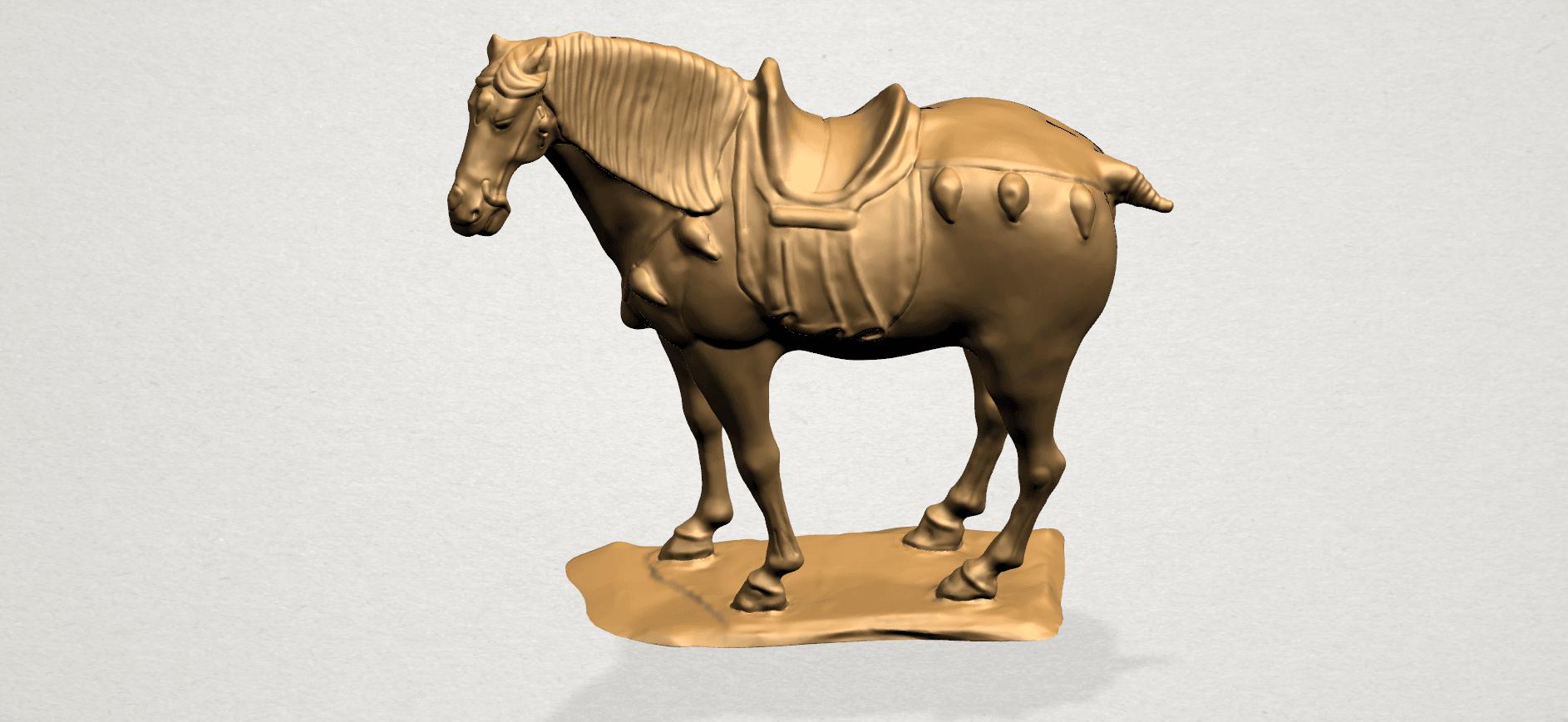 Horse (iv) B01.png Download free STL file Horse 04 • 3D print design, GeorgesNikkei