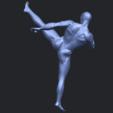 06_TDA0547_Man_KickingB07.png Télécharger fichier STL gratuit Man Kicking • Objet pour impression 3D, GeorgesNikkei