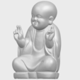 Download free 3D printer model Little Monk 05, GeorgesNikkei