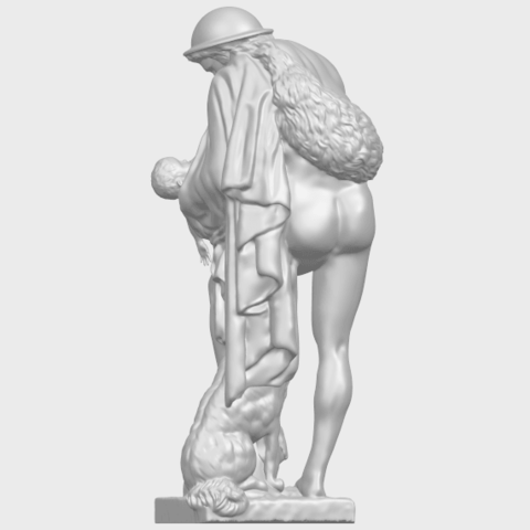 20_TDA0221_Father_and_Son_(iii)_88mmA06.png Download free STL file Father and Son 3 • 3D print model, GeorgesNikkei