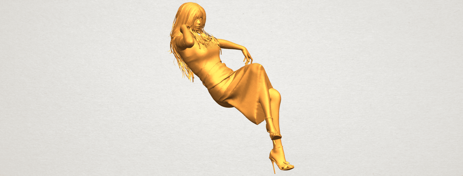 A09.png Download free STL file Naked Girl I01 • 3D print object, GeorgesNikkei