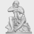 Download free STL file Sculpture of Thor, GeorgesNikkei