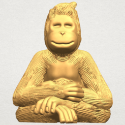 Free 3d printer files Chimpanzee, GeorgesNikkei
