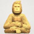 TDA0606 Chimpanzee A01 ex850.png Télécharger fichier STL gratuit Chimpanzé • Design imprimable en 3D, GeorgesNikkei