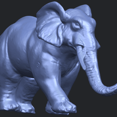 07_Elephant_01_92.6mmB08.png Download free STL file Elephant 01 • 3D printer design, GeorgesNikkei