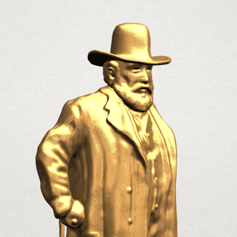Sculpture of a man A08.png Download free STL file Sculpture of a man 02 • Object to 3D print, GeorgesNikkei