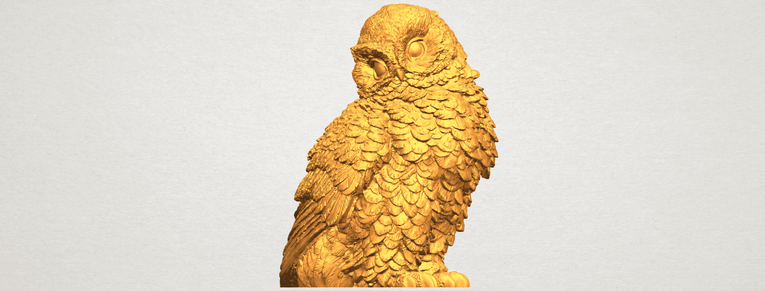 A02.png Download free STL file Owl 04 • 3D printable object, GeorgesNikkei