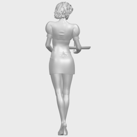 07_TDA0475_Beautiful_Girl_09_WaitressA07.png Download free STL file Beautiful Girl 09 Waitress • 3D printable object, GeorgesNikkei