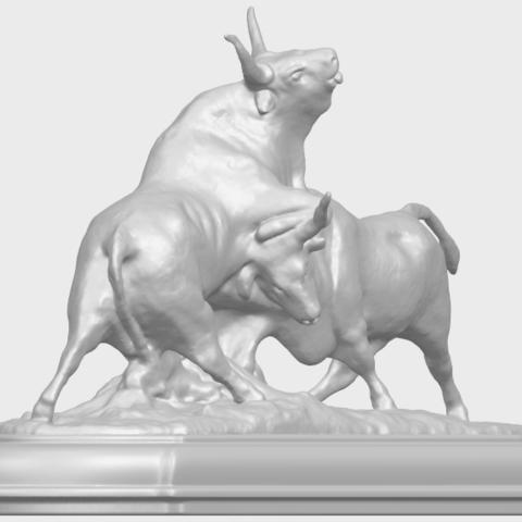 15_Bull_iii_74mm-A05.png Télécharger fichier STL gratuit Taureau 03 • Plan imprimable en 3D, GeorgesNikkei
