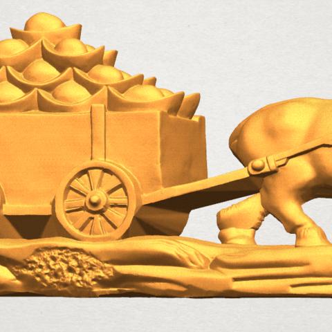 TDA0315 Golden Car A06.png Download free STL file Golden Car • 3D printer template, GeorgesNikkei