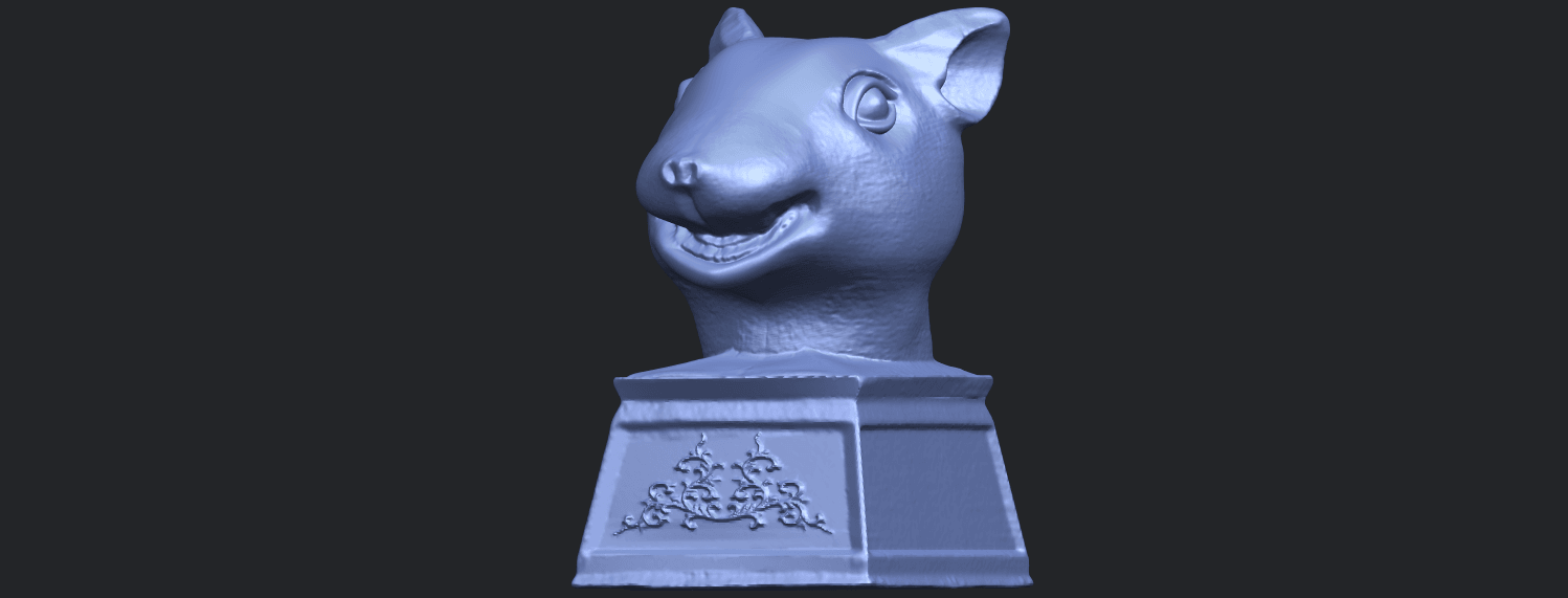 17_TDA0508_Chinese_Horoscope_of_Rat_02B02.png Download free STL file Chinese Horoscope of Rat 02 • 3D printable model, GeorgesNikkei