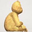 TDA0606 Chimpanzee A06.png Télécharger fichier STL gratuit Chimpanzé • Design imprimable en 3D, GeorgesNikkei