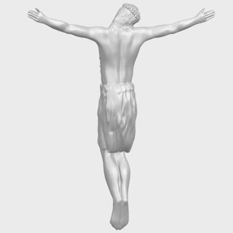 04_TDA0232_Jesus_iii_88mmA06.png Download free STL file Jesus 03 • 3D printable template, GeorgesNikkei