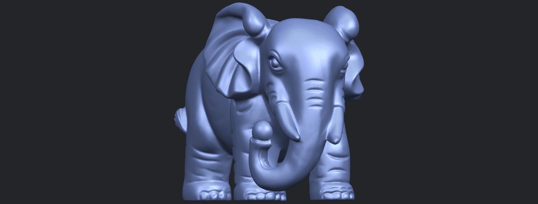 Elephant_03_-122mmB01.png Télécharger fichier STL gratuit Éléphant 03 • Modèle imprimable en 3D, GeorgesNikkei