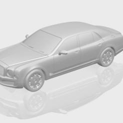 Télécharger plan imprimante 3D gatuit Bentley Arnage 2010, GeorgesNikkei