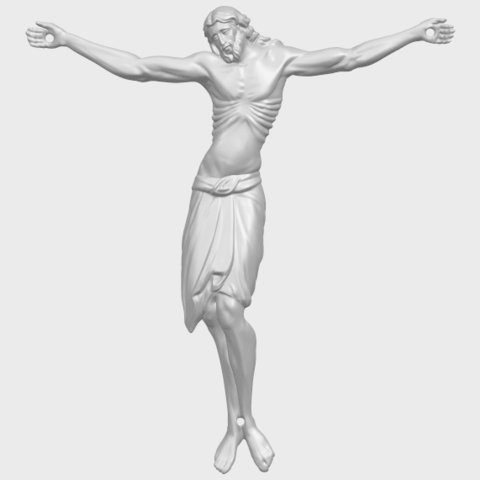 17_TDA0233_Jesus_iv_88mmA01.png Download free STL file Jesus 04 • Template to 3D print, GeorgesNikkei