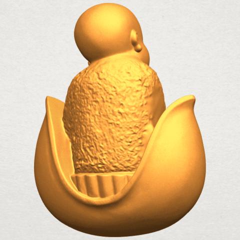 A07.png Télécharger fichier STL gratuit Petit Moine 03 • Modèle pour imprimante 3D, GeorgesNikkei