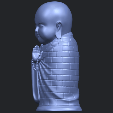 Little_Monk_80mmB03.png Download free STL file Little Monk 01 • 3D printable design, GeorgesNikkei