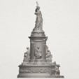 TDA0242 Place de la Republique A06.png Download free STL file Place de la Republique • 3D printer model, GeorgesNikkei