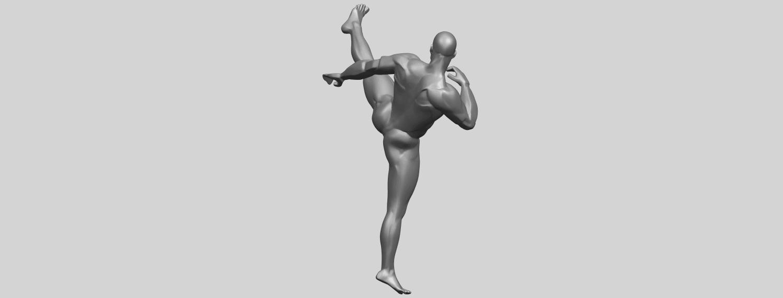 06_TDA0547_Man_KickingA08.png Télécharger fichier STL gratuit Man Kicking • Objet pour impression 3D, GeorgesNikkei