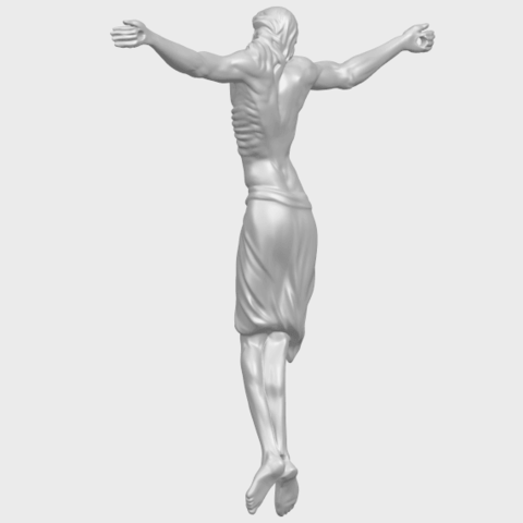 17_TDA0233_Jesus_iv_88mmA05.png Download free STL file Jesus 04 • Template to 3D print, GeorgesNikkei