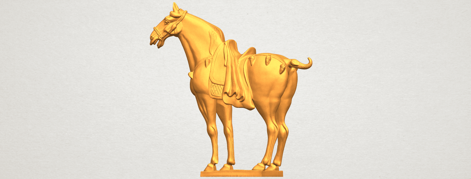 A02.png Download free STL file Horse 08 • Design to 3D print, GeorgesNikkei