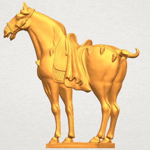 A02.png Télécharger fichier STL gratuit Cheval 08 • Plan à imprimer en 3D, GeorgesNikkei
