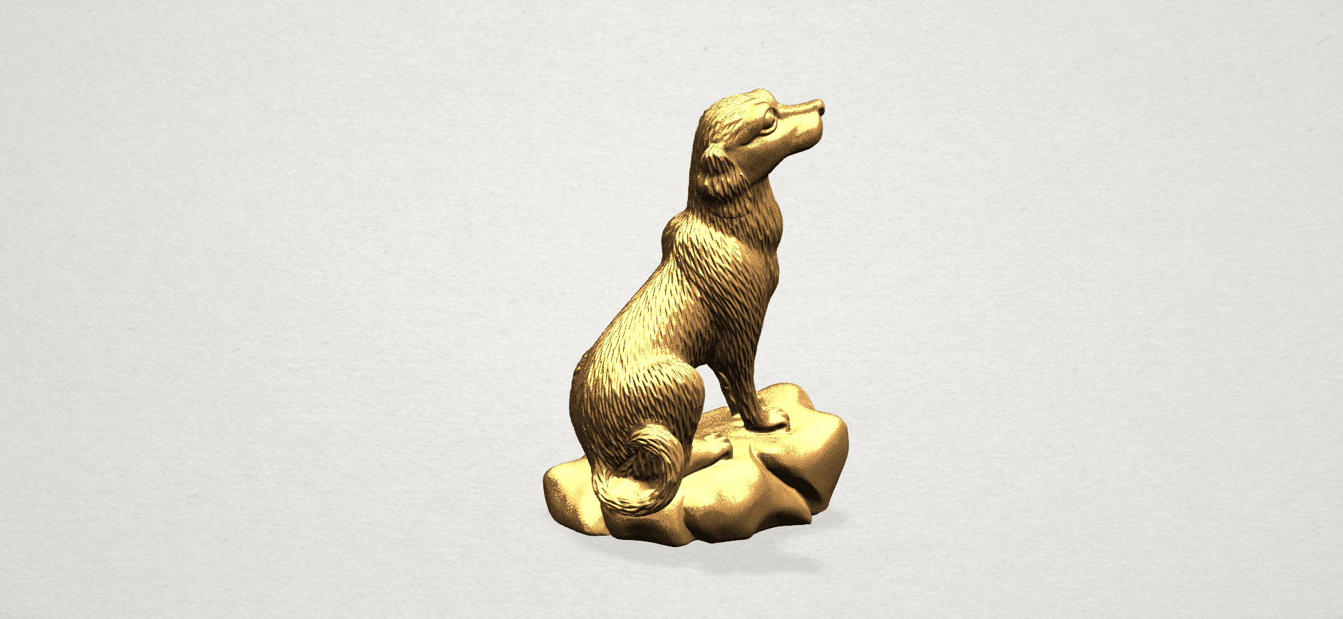 ZChinese Horoscope11-B03.png Download free STL file Chinese Horoscope 11 Dog • 3D print design, GeorgesNikkei