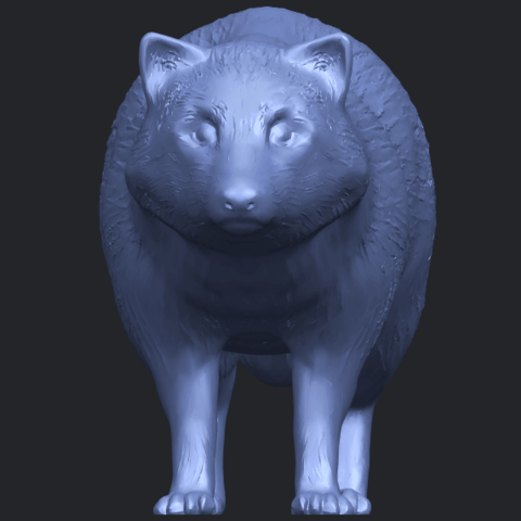 07_TDA0601_FoxB09.png Download free STL file Fox • 3D printer model, GeorgesNikkei