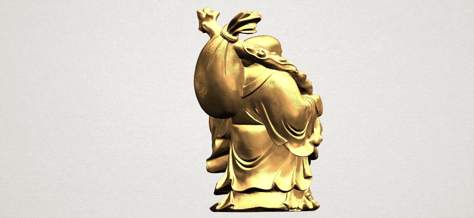 Metteyya Buddha 05 - 88mm - A06.png Télécharger fichier STL gratuit Bouddha Metteyya 05 • Objet imprimable en 3D, GeorgesNikkei