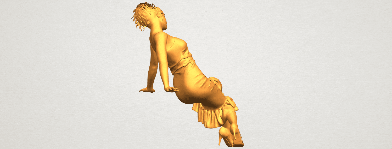 A08.png Download free STL file Naked Girl G05 • 3D printing object, GeorgesNikkei