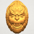 Download free 3D printer designs Monkey Head, GeorgesNikkei