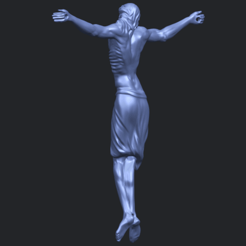 17_TDA0233_Jesus_iv_88mmB05.png Download free STL file Jesus 04 • Template to 3D print, GeorgesNikkei