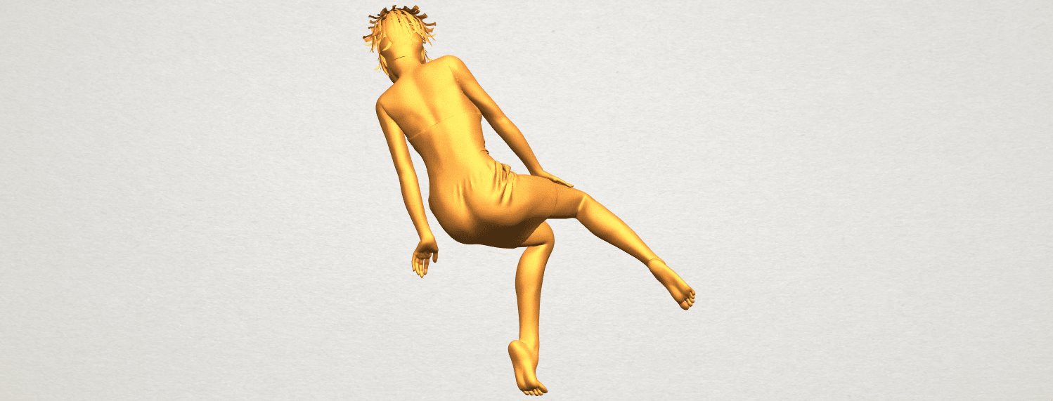 A06.png Download free STL file Naked Girl E07 • 3D printing object, GeorgesNikkei