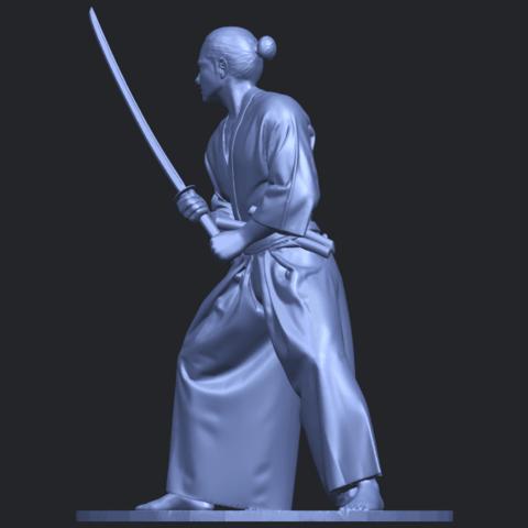 05_TDA0544_Japanese_WarriorB03.png Download free STL file Japanese Warrior • 3D printer model, GeorgesNikkei
