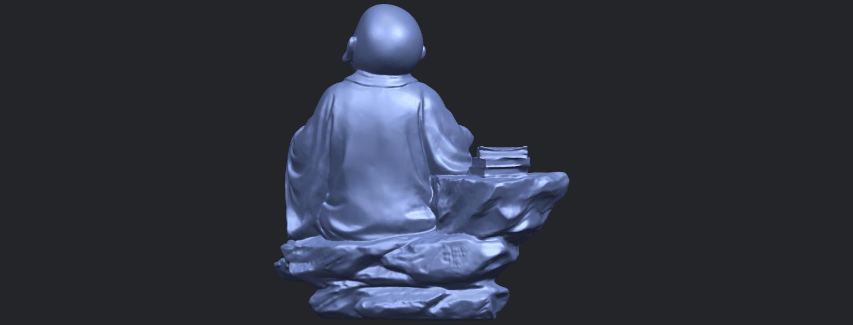 17_TDA0558_Little_Monk_Drink_TeaB07.png Télécharger fichier STL gratuit Boire du thé Little Monk Drink Tea • Design à imprimer en 3D, GeorgesNikkei